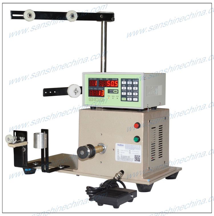 headset coil winding machine