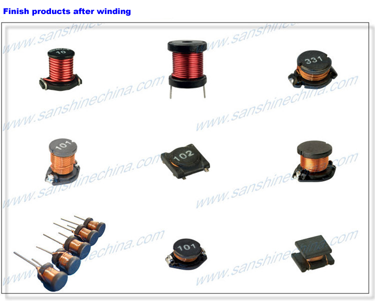 round core winding machine