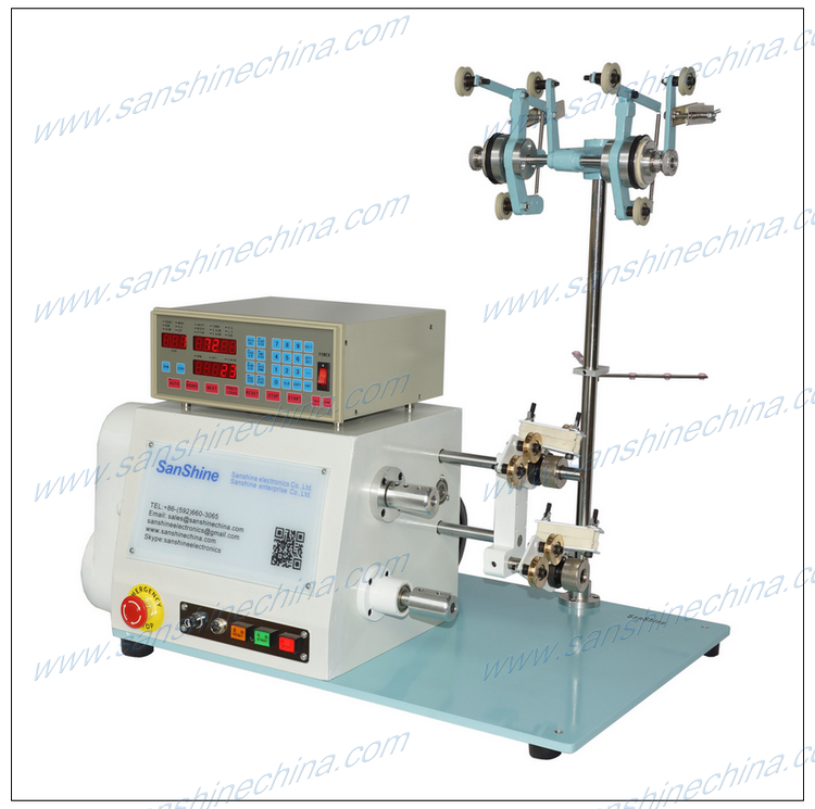 big inductor coil winding machine