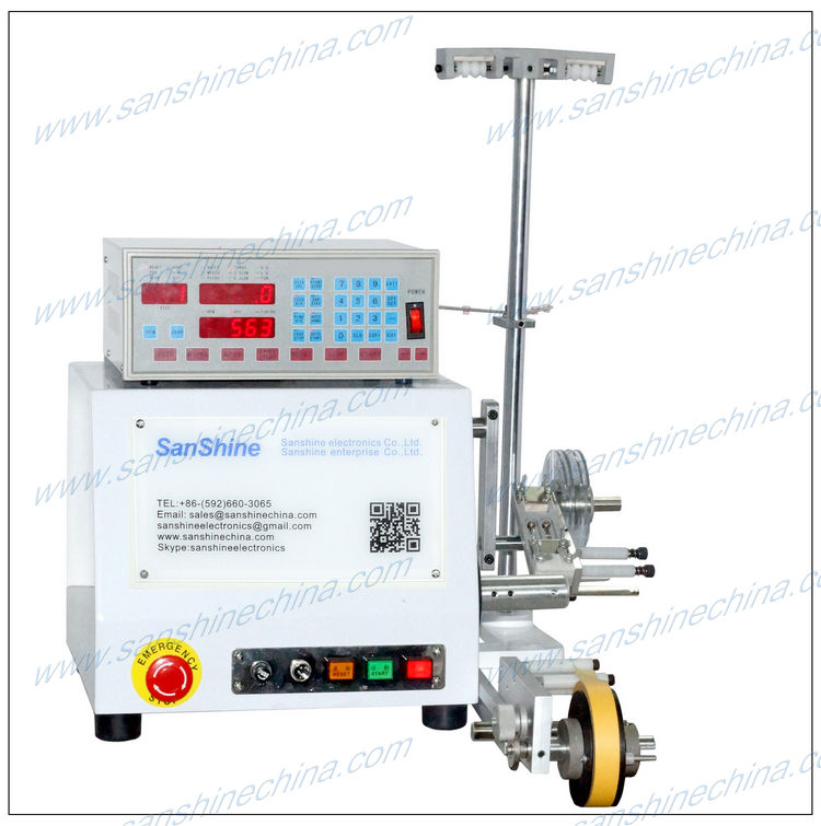 audio crossover network inductor winding machine