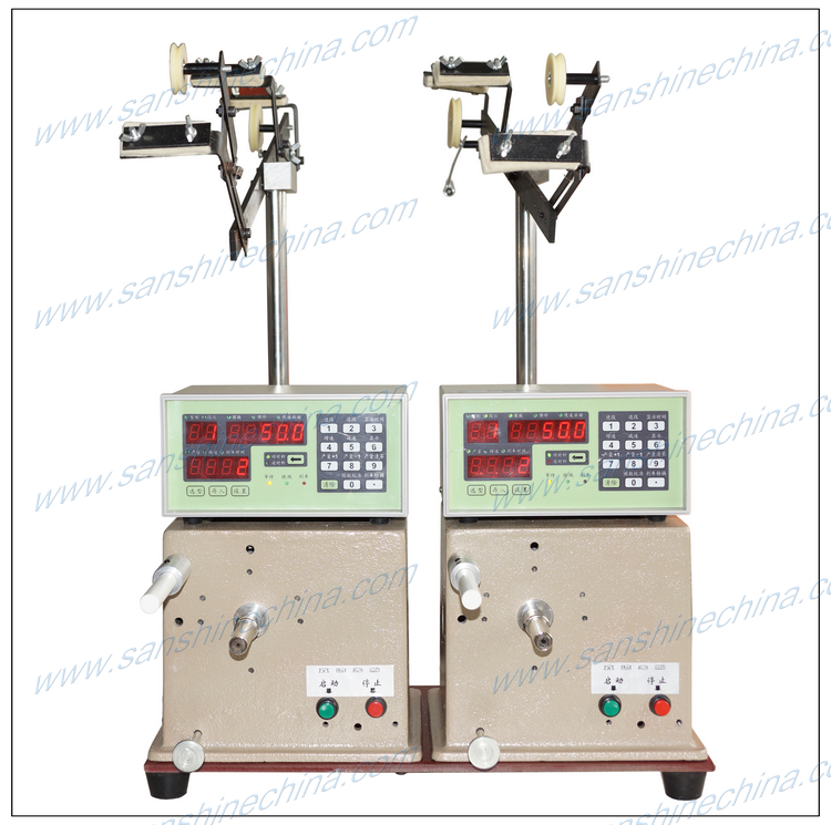 shielded inductor winding machine
