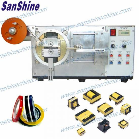 transformer insulation tape taping machine