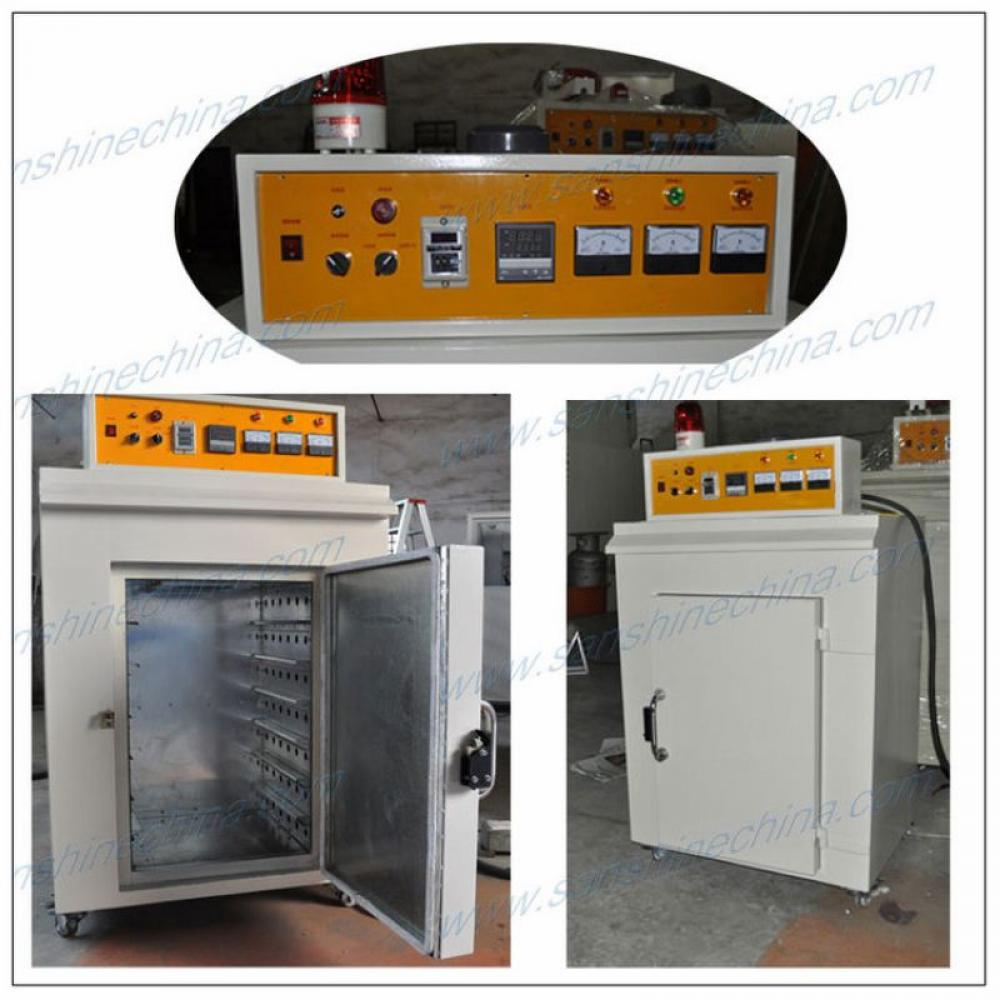 Industrial hot air cycled electric drying baking oven