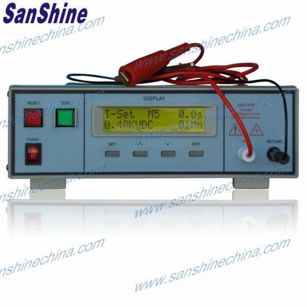 programable AC voltage withstand insulation resistance hipot tester