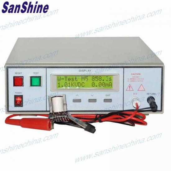 programble AC DC withstand voltage tester