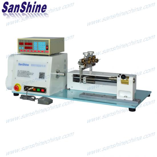 thick wire coil winding machine