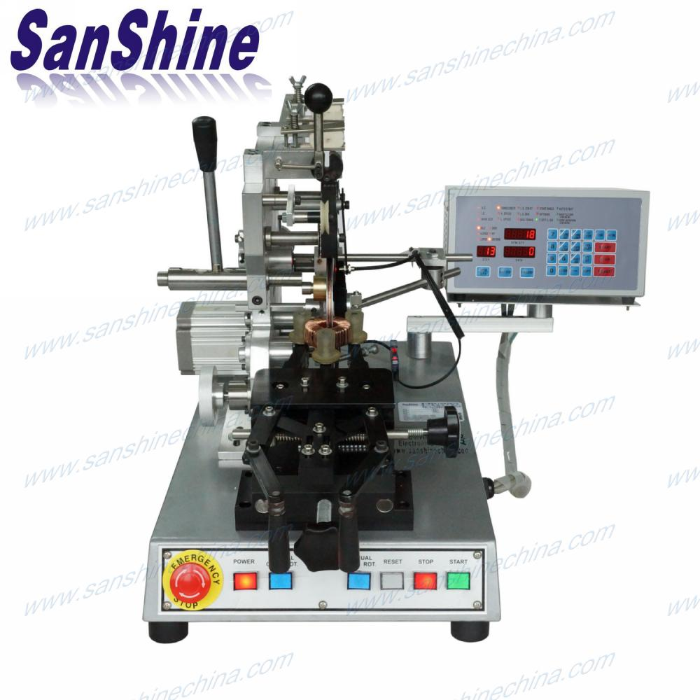 programmable belt type automatic toroid coil winding machine