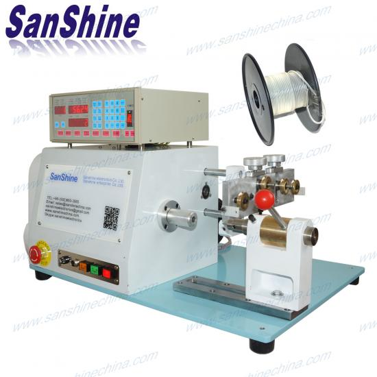 thick plastic string rewinding machine